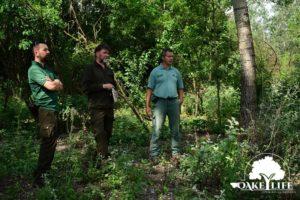 Szakmai networking egyeztetés a Peszéri-erdőben Pilisi Parkerdő
